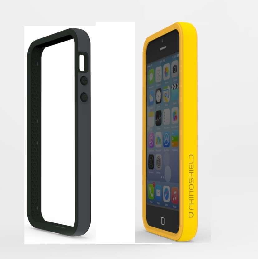 Coque bumper orange Rhino Shield Crash Guard pour Iphone 5/5S